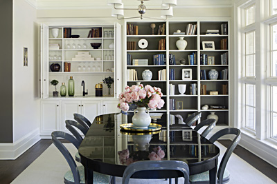 Award winning dining room design by Sage Design