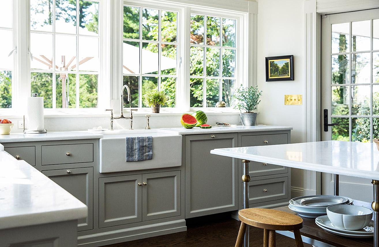 Remodeled Kitchen design by Sage Design