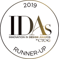 IDA runnerup button 2019