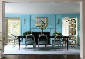 Featured in Houzz - Bold Wall Color by Sage Design