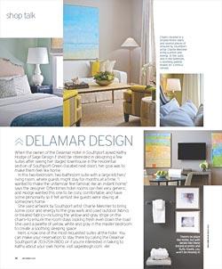 Sage Design at the Delamar Hotel